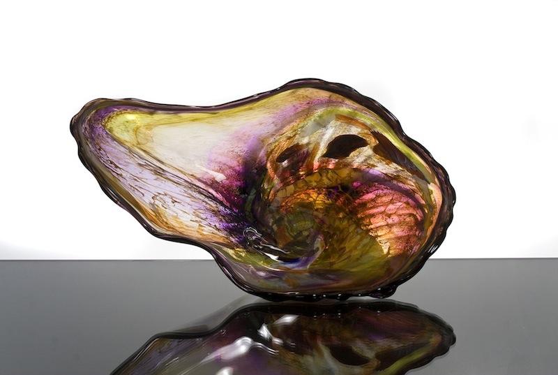 Ocean Shells Glass Art