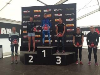 Pro Women's podium