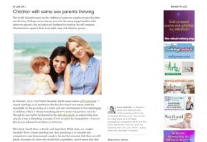 children with same sex parents