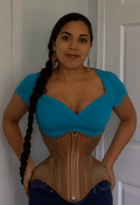 """My Contour Corset was very close to being perfect - it just needed perhaps 1.5 - 2"""" more length in the underbust, and tweaking around the hips."""