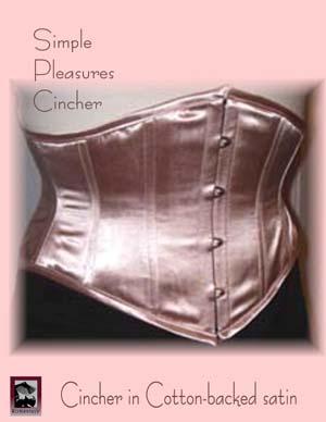 Romantasy Exquisite Corsetry Simple Pleasures cincher