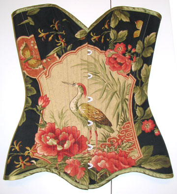 Click here to see pattern matched corsets