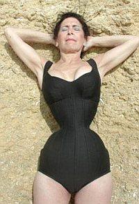 Cathie Jung beach corset