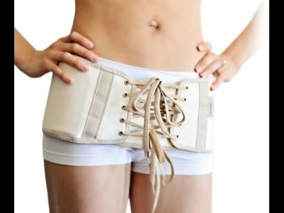 The Hip Slimmer is a hip compression belt marketed toward those who have recently given birth. Click through to Amazon.