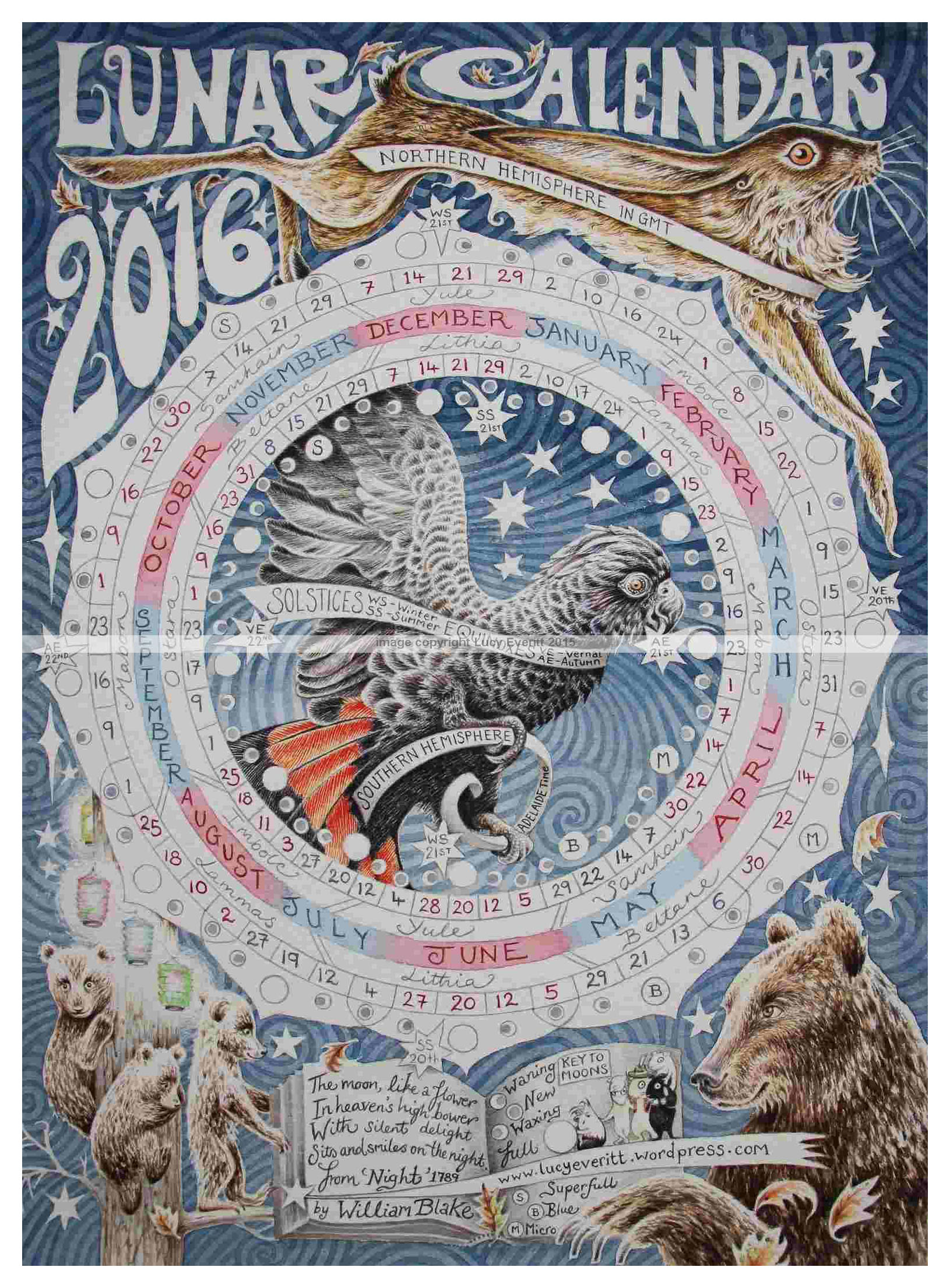 Buy Lunar Calendars