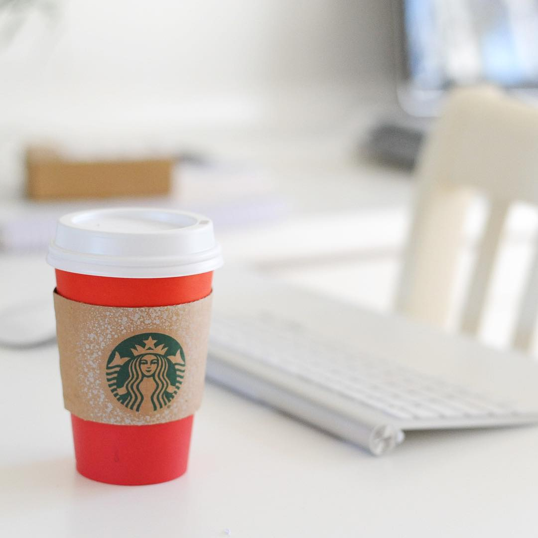 Starbuck Runs during Office Hours