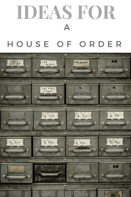 House of Order: Tidy and Functional
