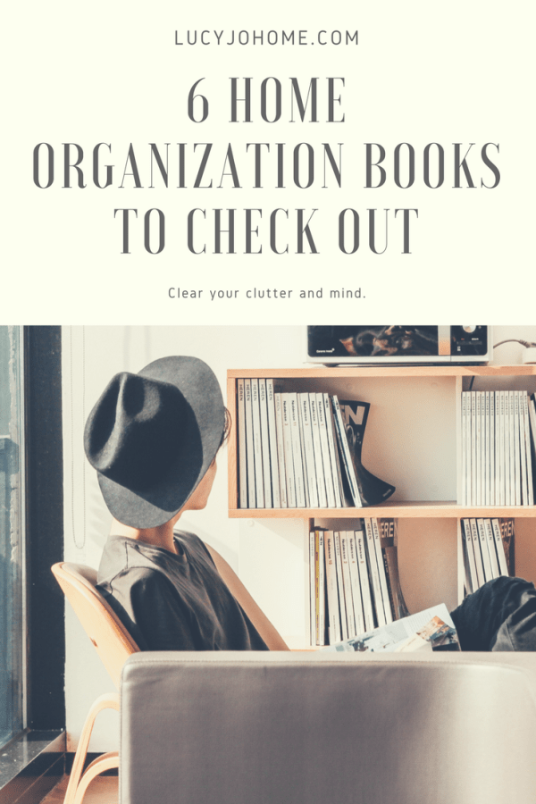 6 Home Organization Books to Check Out