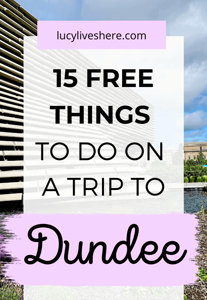 free things to do in dundee