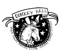 donkey hall vector
