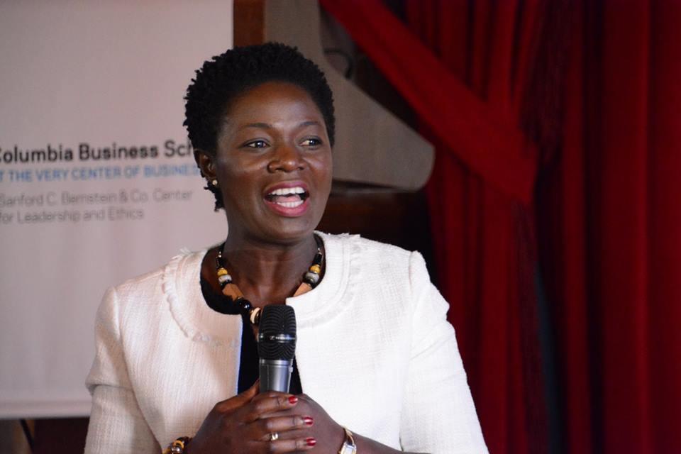 Lucy speaks on 'Restoring Trust in Business Leadership'