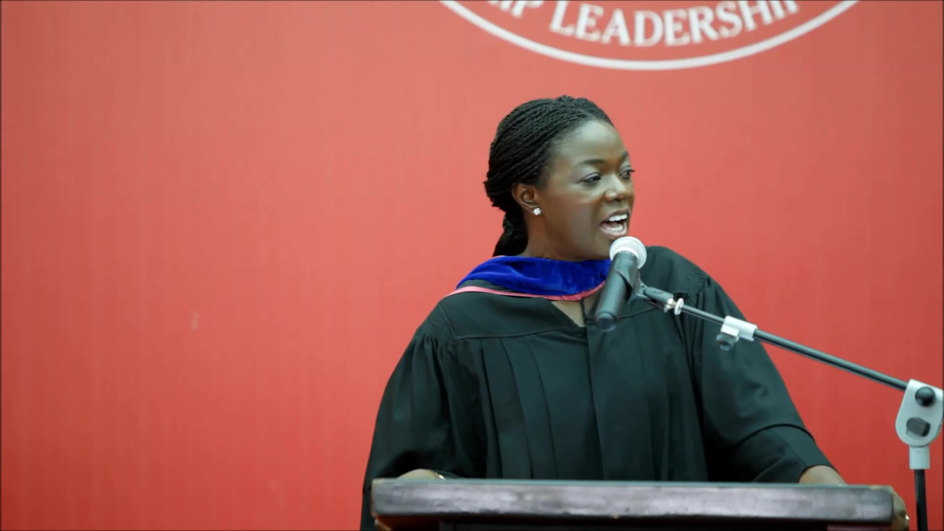 """Execute big visions to transform Africa for good,"""" Lucy Quist tell Ashesi's Class of 2016"""