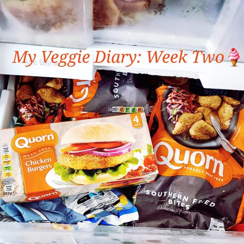 My Veggie Diary: Week Two