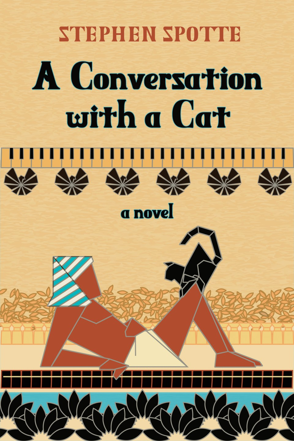 a conversation with a cat cover