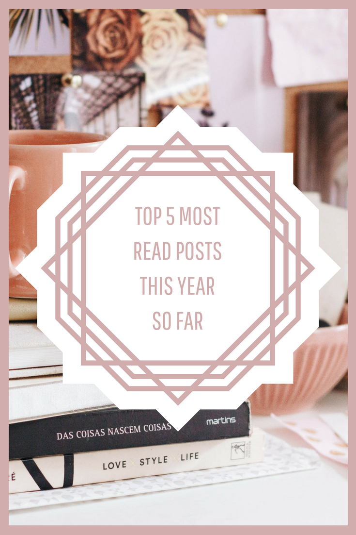 My Top 5 Most Read Posts This Year So Far