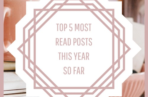 top 5 most read posts this year so far graphic