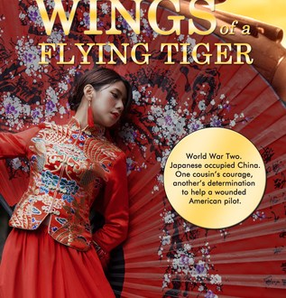 Wings of a Flying Tiger book cover