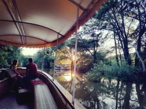 Boat trip on river Kamchia