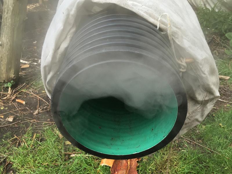 Steam bending apparatus. More info on the steam bending apparatus on Instagram: https://instagram.com/p/BVpEOZ9ALVv/ via @GreenwoodDays.