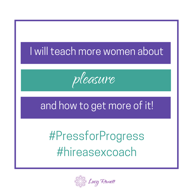 International Women's Day, #PressforProgress, sex coach, Eastbourne, Brighton