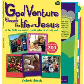 godventure, life of jesus, victoria beech, creative lent ideas for families