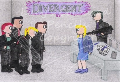 Tris and Four are captured during the Dauntless attack on Abnegation and taken to Jeanine