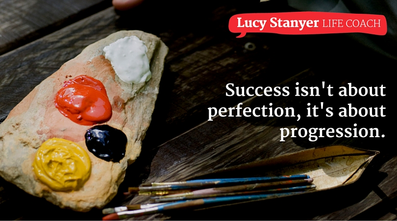 As we start the new year, it's healthy to remember that success isn't about perfection, it's about progression.