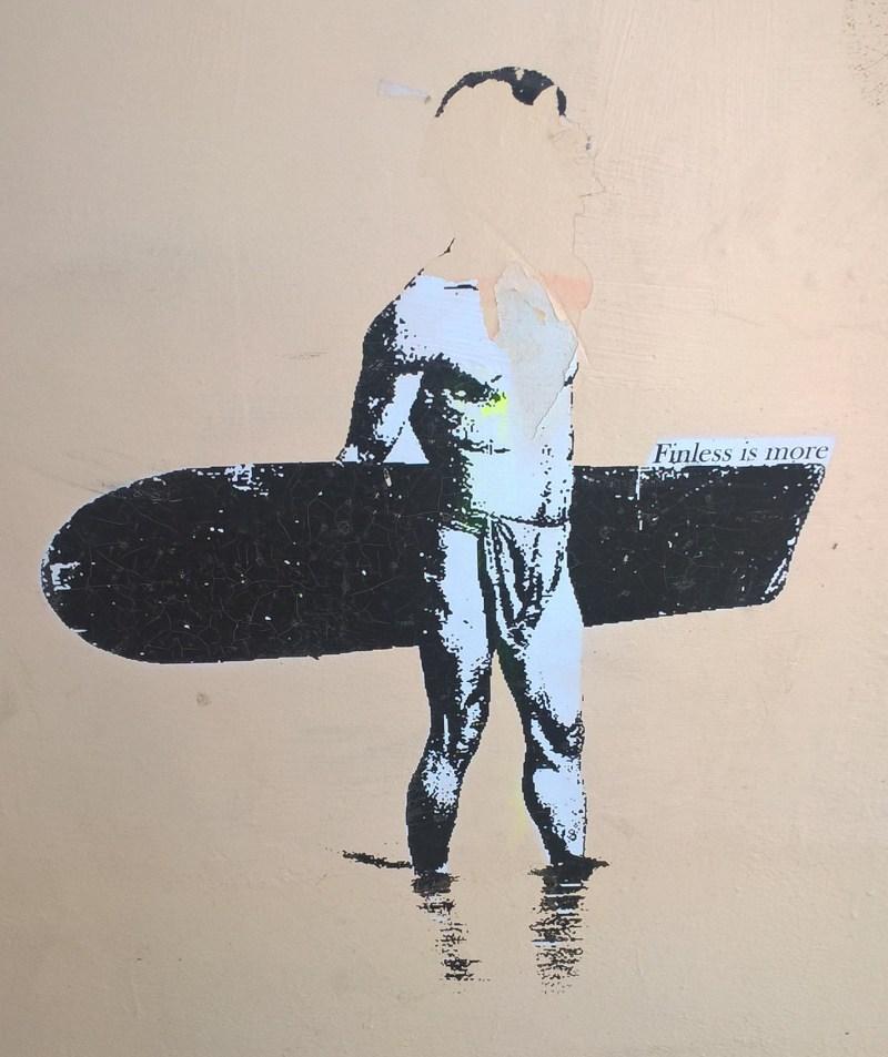 Street art Sydney a tema surf