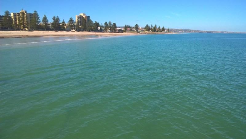 Mare e spiaggia a Glenelg, Adelaide