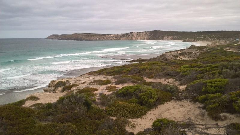 Kangaroo Island panorama mare