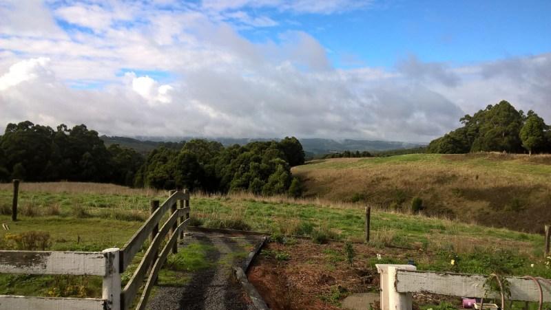 Lavers Hill, panorama sulle colline