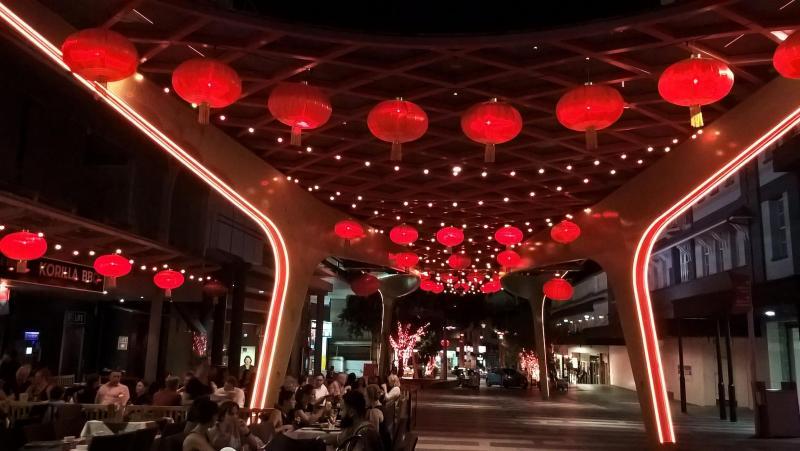 brisbane chinatown lanterne rosse