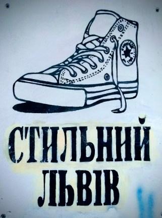 graffiti in ucraino