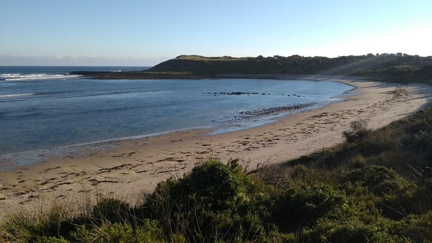 spiaggia deserta phillip island