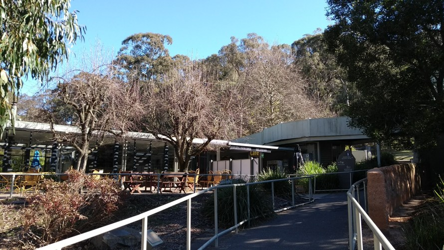 Hanging Rock visitor centre