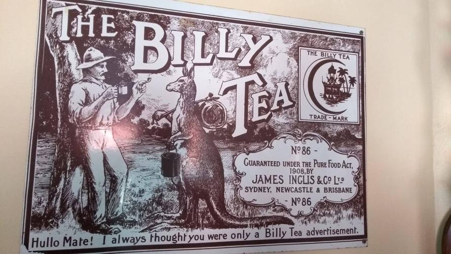 pubblicità australiana antica
