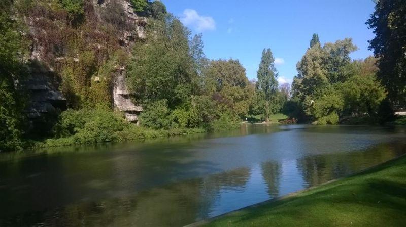 Buttes-Chaumont, Parigi: natura