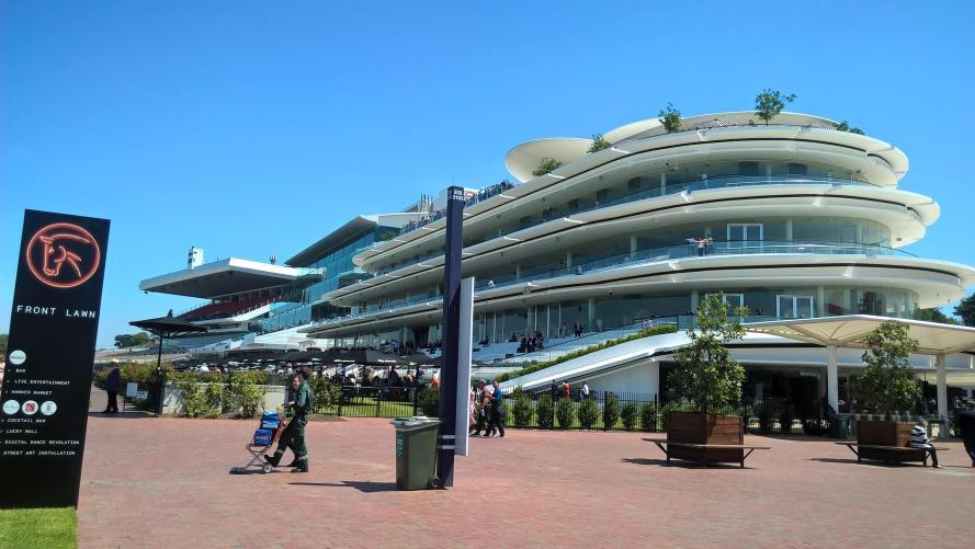 L'ippodromo di Melbourne, il Flemingron Racecourse