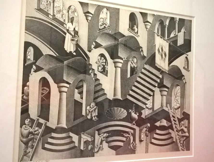 Escher disegni assurdo