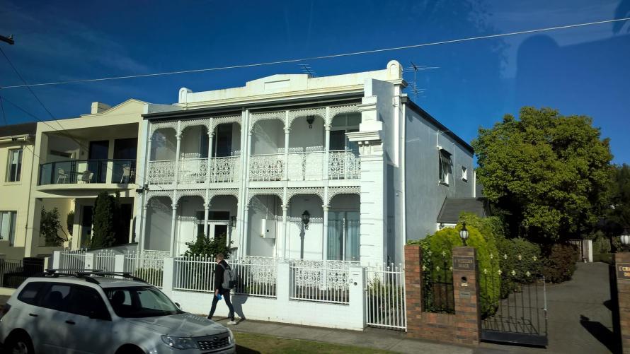 geelong facciata tipica australiana
