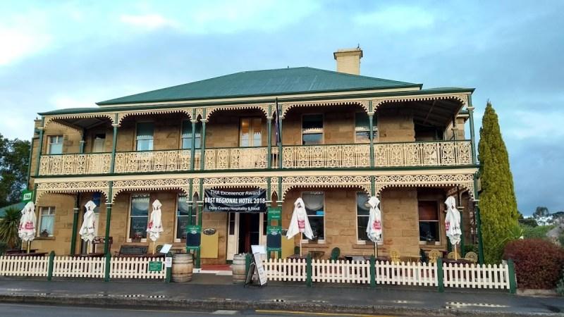 casa tipica australiana richmond tasmania