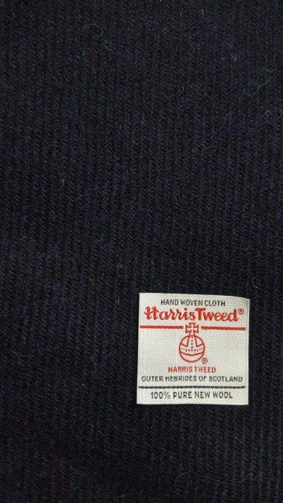 Navy Harris Tweed