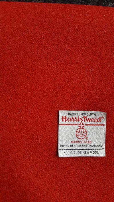 Red Harris Tweed