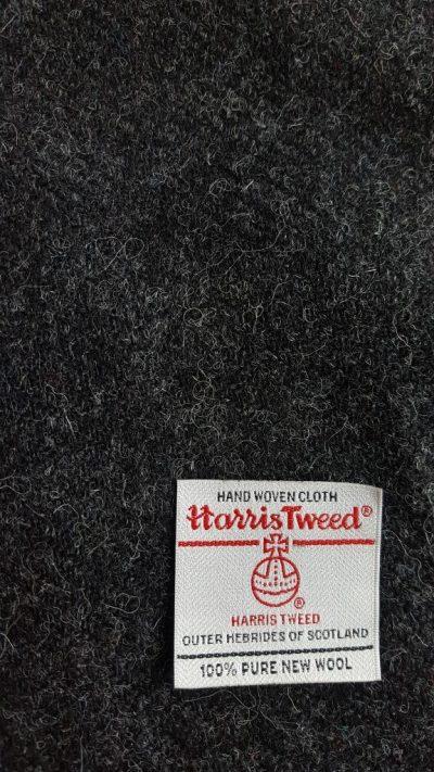 Charcoal Harris Tweed
