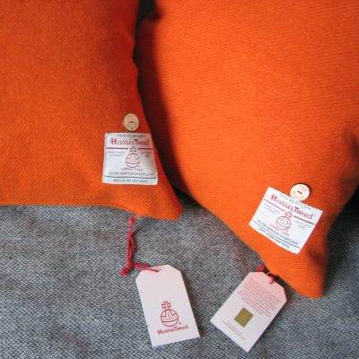 Mid Burnt Orange Cushion Covers