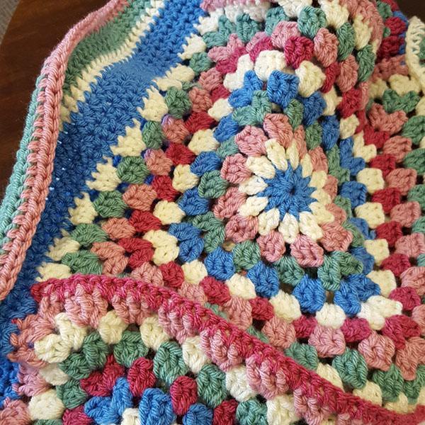 Granny Square Project Bag