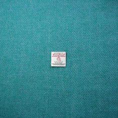 Green/Turquoise Herringbone
