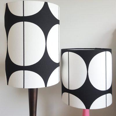 monochrome table lamp shades