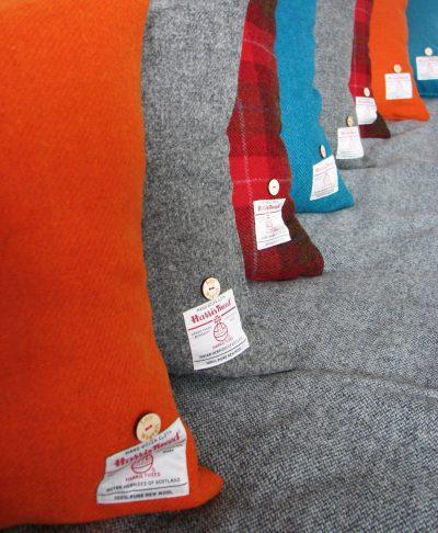 Variety of Harris Tweed Cushions