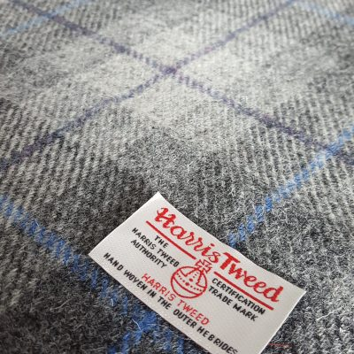 Charcoal Grey Check with Purple and Blue Overcheck HT